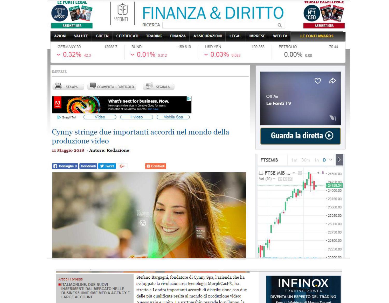 Finanza MorphCast Dynamo